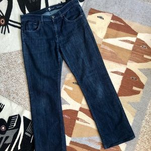 7 for all mankind dark wash boot cut Jeans 32